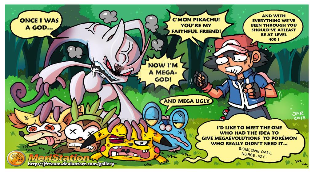 Pokemon XY Megaevolution by JFRteam on DeviantArt