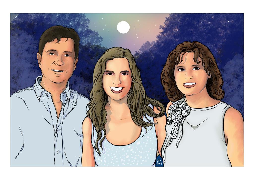 Family Portrait by JFRteam