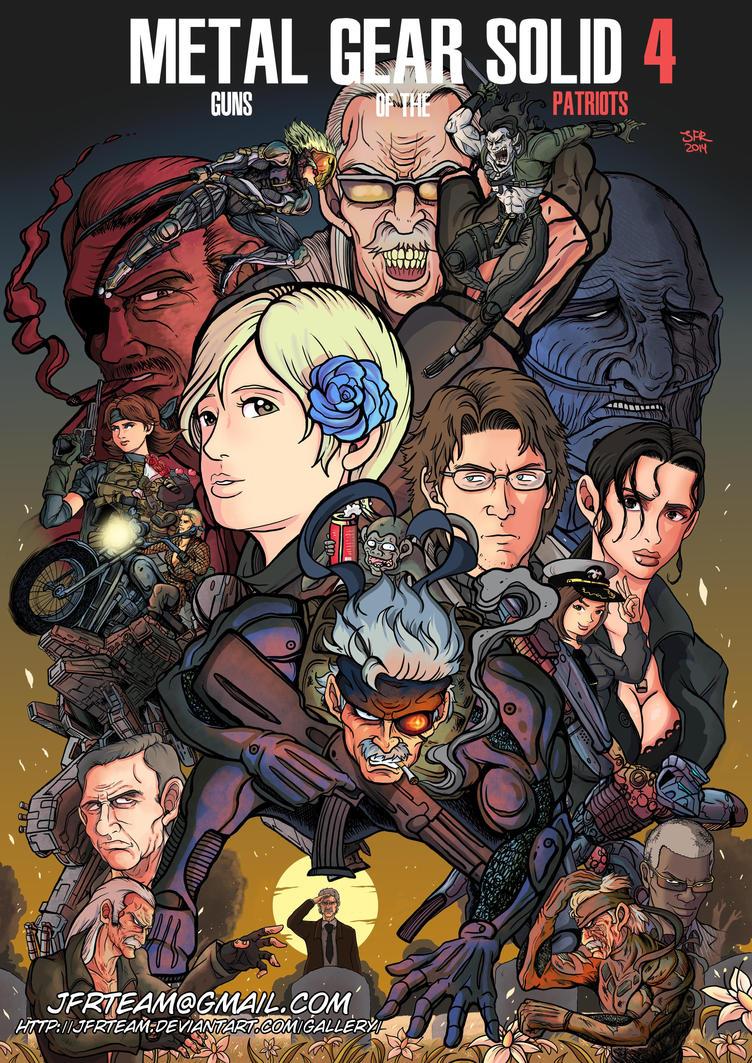 Metal Gear Solid 4 by JFRteam