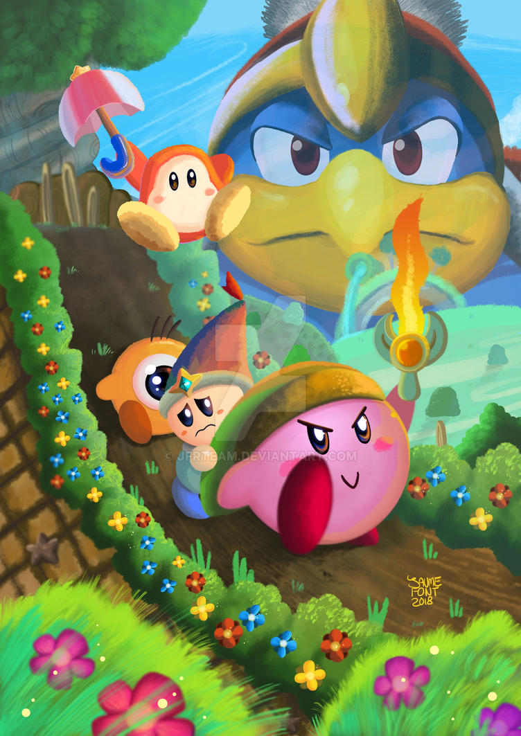 KIRBY STAR ALLIES COVER by JFRteam