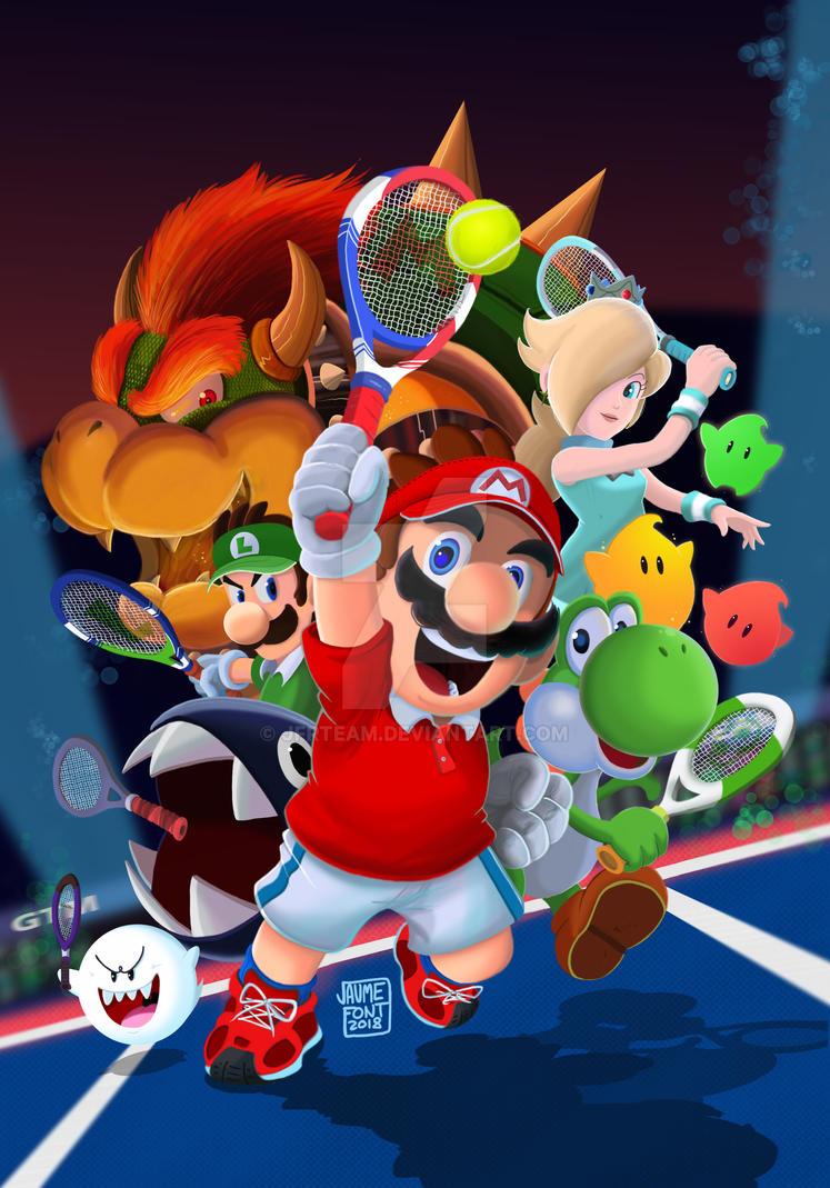 Mario Tennis Aces by JFRteam