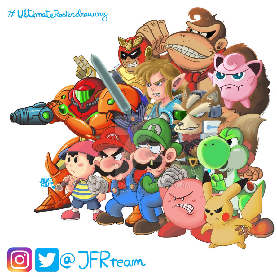 Smash Bros. Ultimate daily challenge by JFRteam
