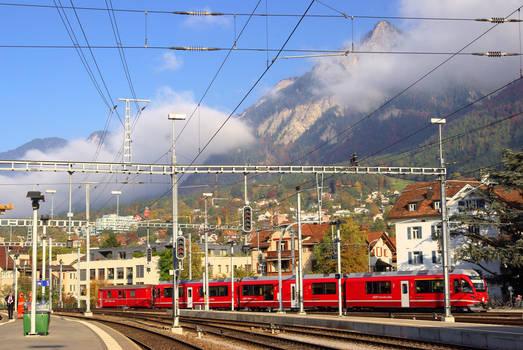 Chur Train Station-2
