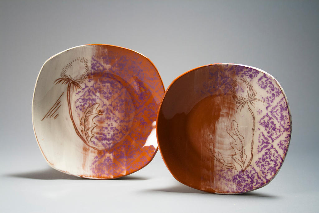 Thistle Plates by Starchip13