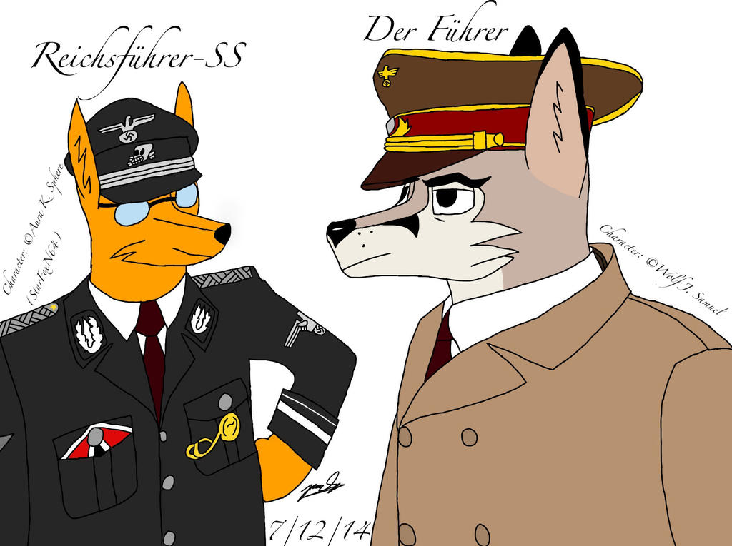 Great leaders by StarFoxN64