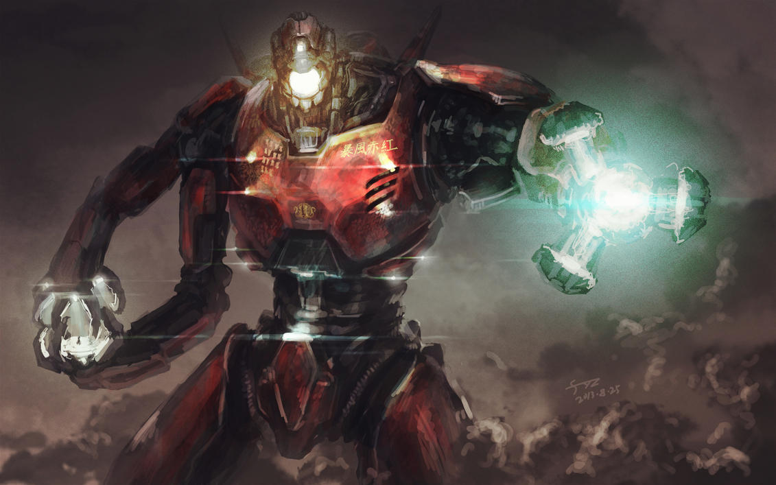 Pacific Rim-Crimson Typhoon by flyYZ on DeviantArt Pacific Rim Crimson Typhoon Drawing