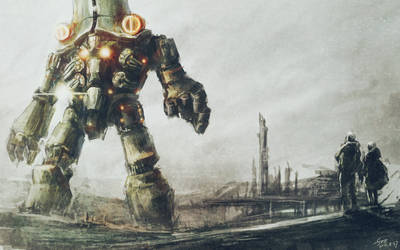 Pacific Rim-Cherno Alpha by flyYZ