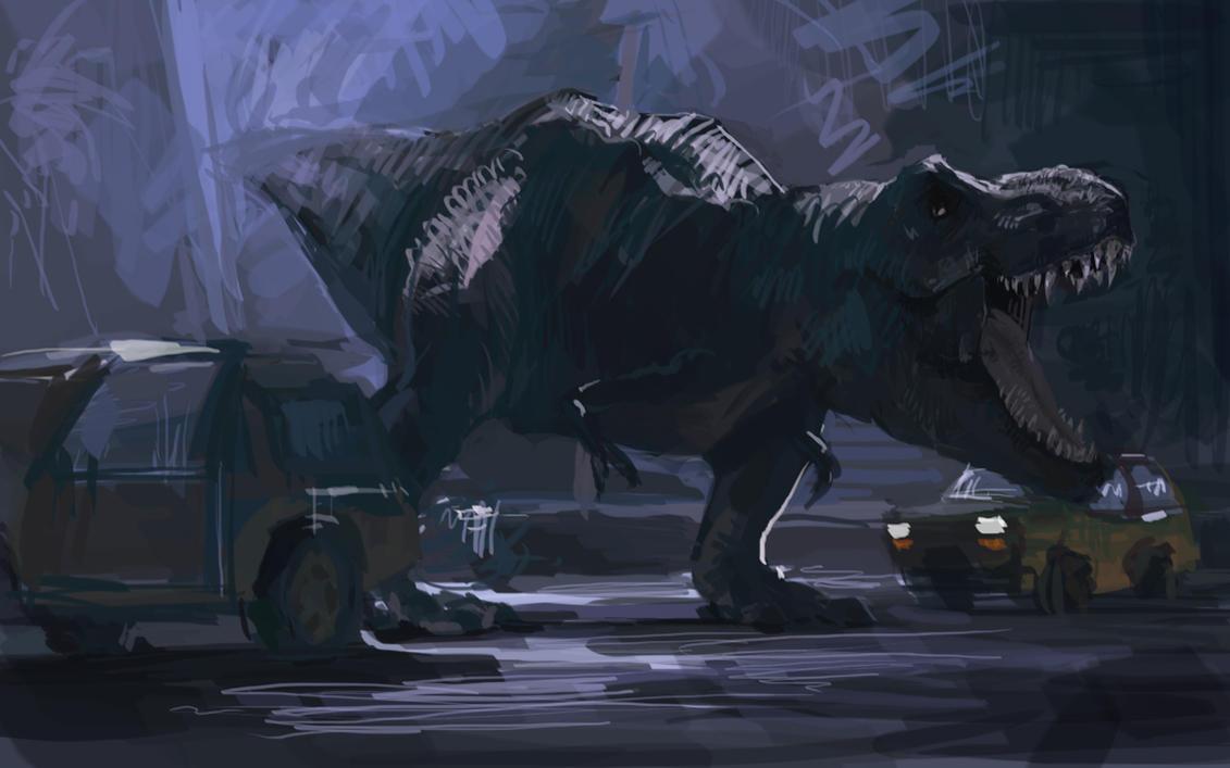 Jurassic Park by flyYZ on DeviantArt