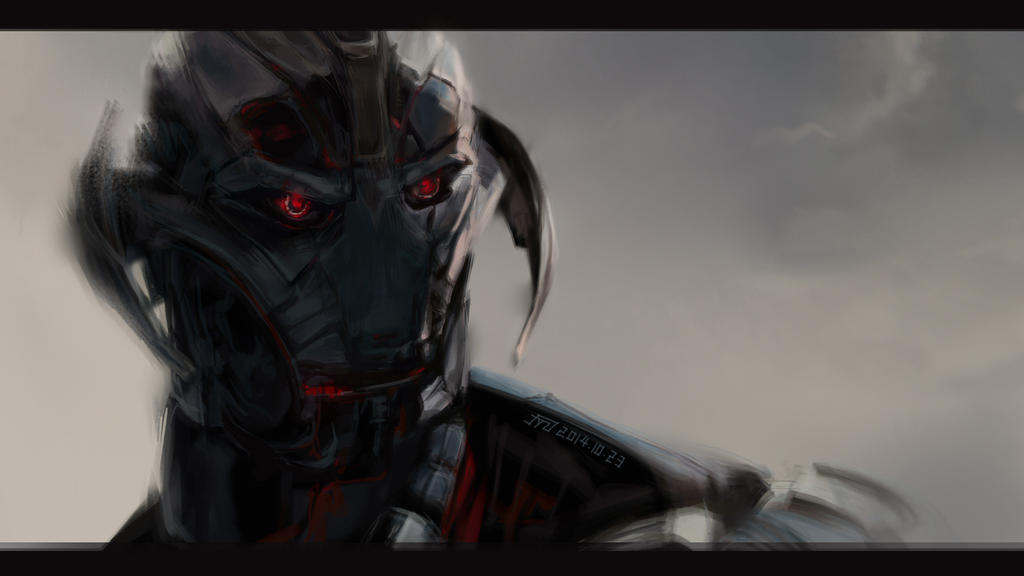 The Avengers-Ultron by flyYZ