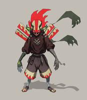 Gad O the Dragon by Xiperius