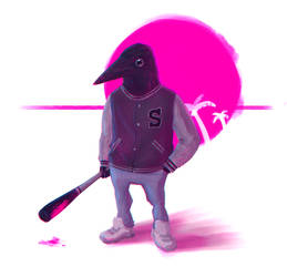 Hotline Miami - Simon by Xiperius