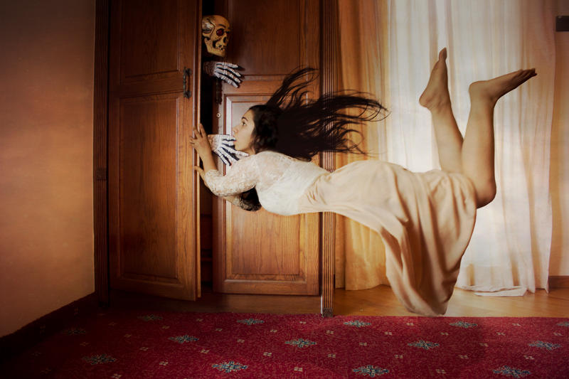 a skeleton in the closet Skeleton in the closet or skeleton in the cupboard is a colloquial phrase and idiom used to describe an undisclosed fact about someone which, if revealed.