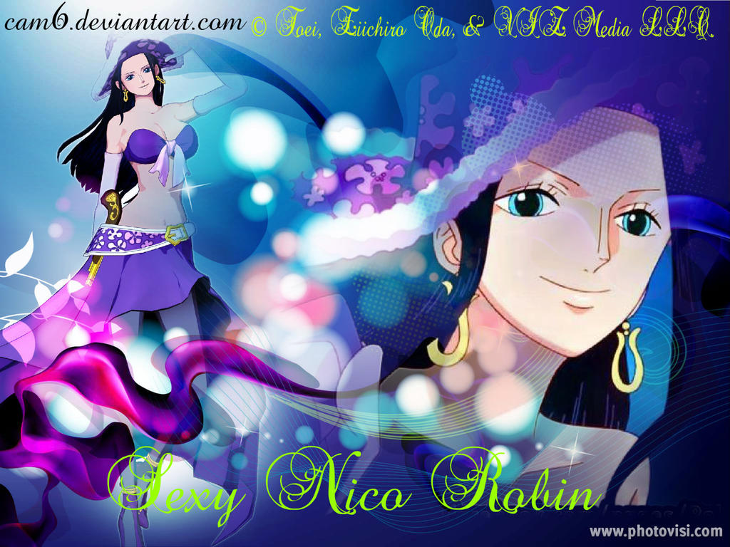 One Piece Wallpaper Sexy Nico Robin 4 By Camanime7794 On