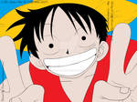 Monkey D. Luffy (Colored Version)