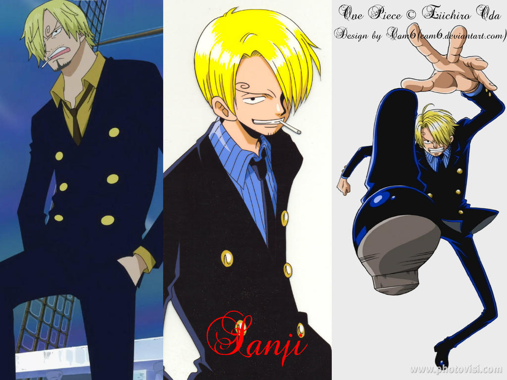 One Piece Wallpaper Sanji By Cam6