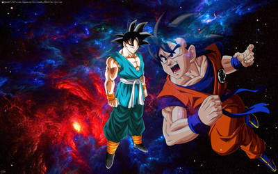 Son Goku Wallpaper HD by cam6