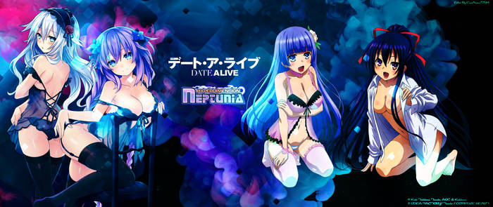 DAL/Neptunia Girls in Lingerie