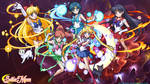 Sailor Scouts Wallpaper by CamAnime7794