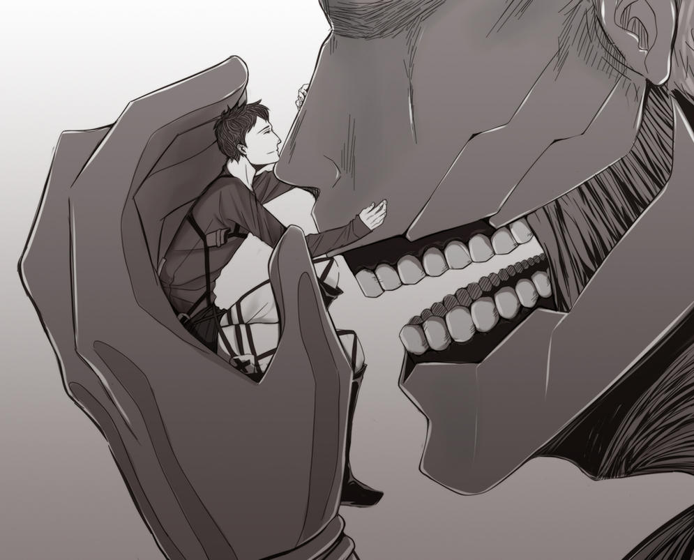 Armored Titan V... Attack On Titan Eren Titan Vs Armored Titan