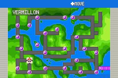 GBA Pkmn Hack: Pokemon 6- Methora region map by dragon-du-22