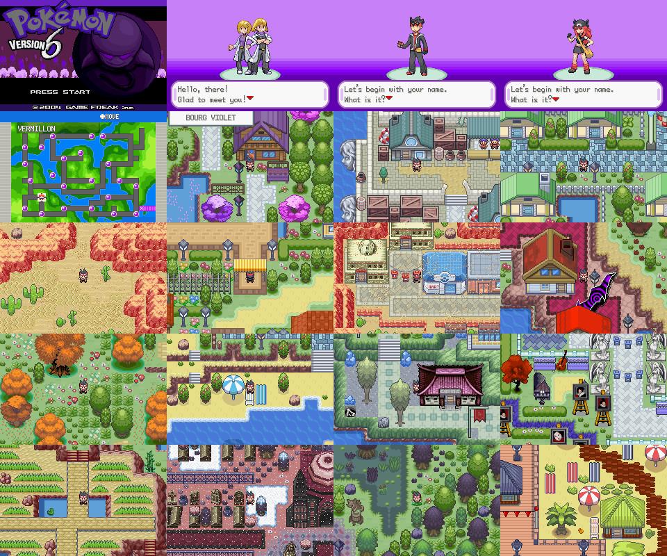 Firered Hack Pok 233 Mon Version 6 Protagonist Overworld Sprites Released The Pok 233 Community Forums
