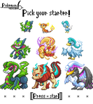GBA Pkmn hack: Pokemon 6 - Pick your starter!