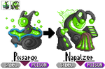 GBA Pkmn hack: Pokemon 6 - Slimy Steely Snails