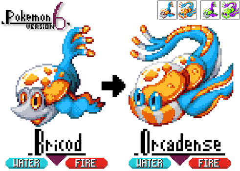 GBA Pkmn hack:Pkmn 6 - Fluorescent Fiery Fishes