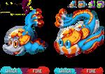 GBA Pkmn hack:Pkmn 6 - Fluorescent Fiery Fishes