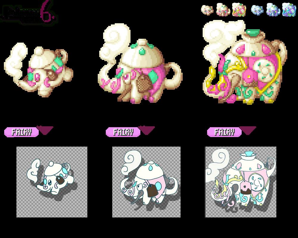 GBA Pkmn Hack: Pokemon 6 - Teapot Elephants by dragon-du-22