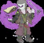 Lord Necromancer MacBeth ( no-shadow version)
