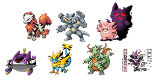 Pokemon Infinite Fusion - My Team