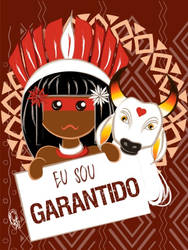 Cartaz Garantido by Oradine