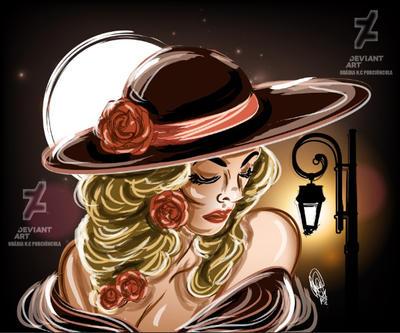 Dama da Noite by Oradine