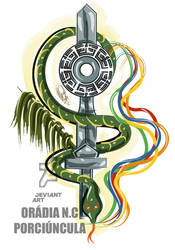 Oxumare e Ogum by Oradine