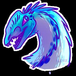 Dilophasaurus by FeenixTheFennecFox