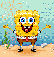 Spongebob by Paxjah