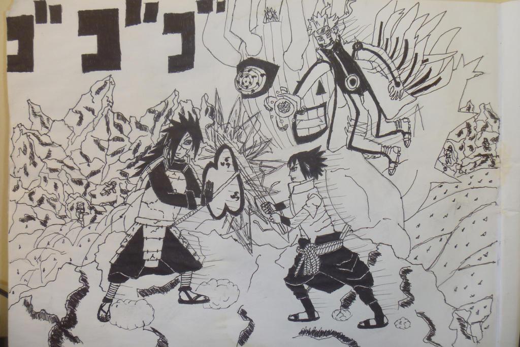The Final Battle - Naruto e Sasuke vs Madara by ...