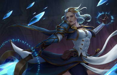 Jaina Proudmoore by Gianara