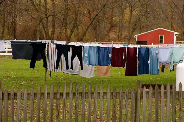 Amish Laundry Day by Yawnboyfilms