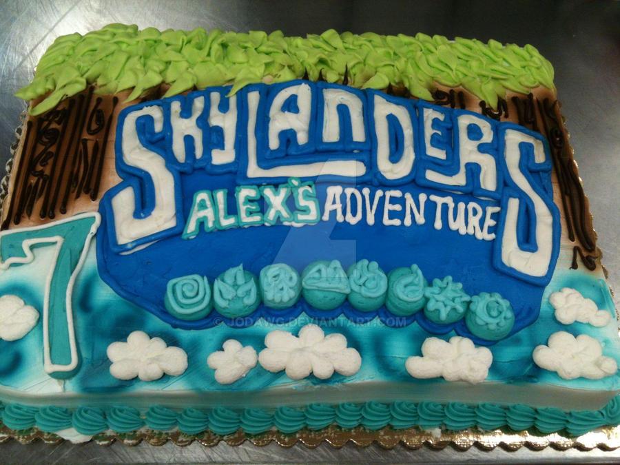 Skylanders Birthday Cake by jodawg on DeviantArt