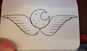 #32 Luna symbol by LucyQ602