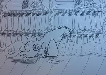 Sleeping Spike by LucyQ602