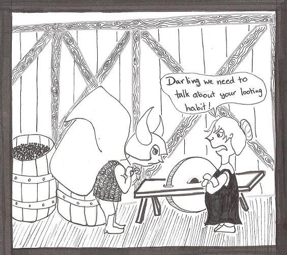 Skyrim, Looting habit. by LucyQ602