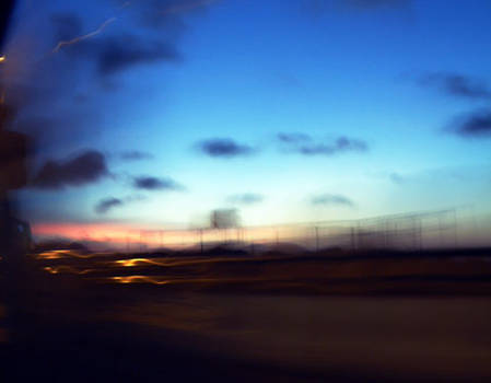 Down the road of dusk