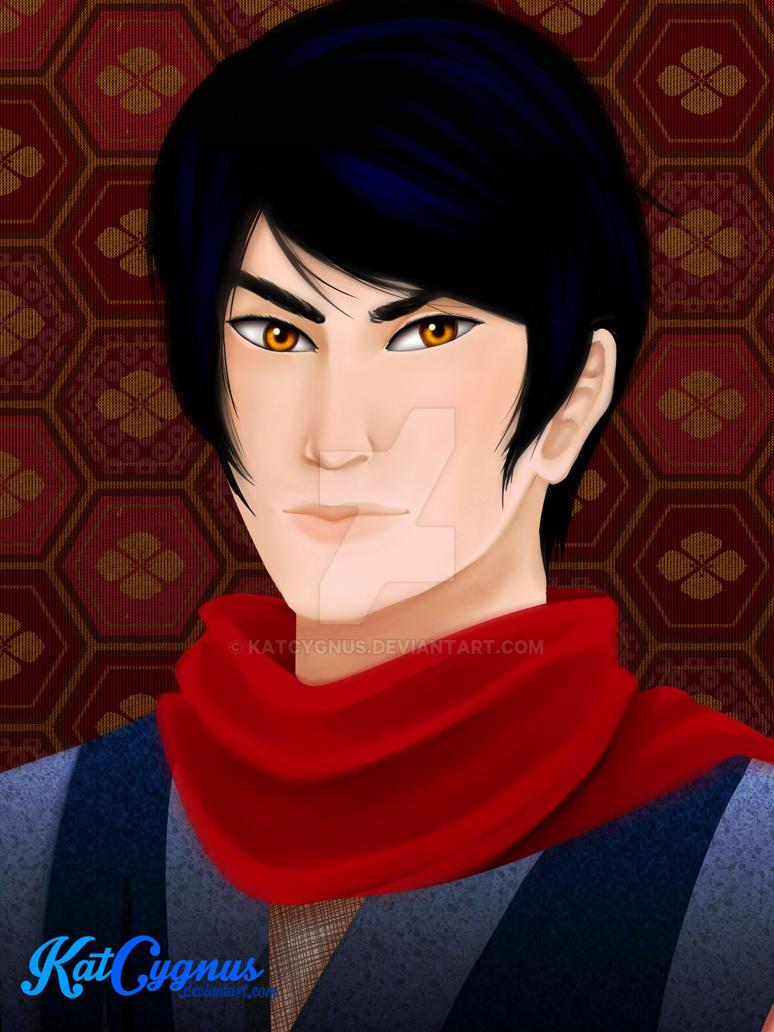 Kai portrait by KatCygnus