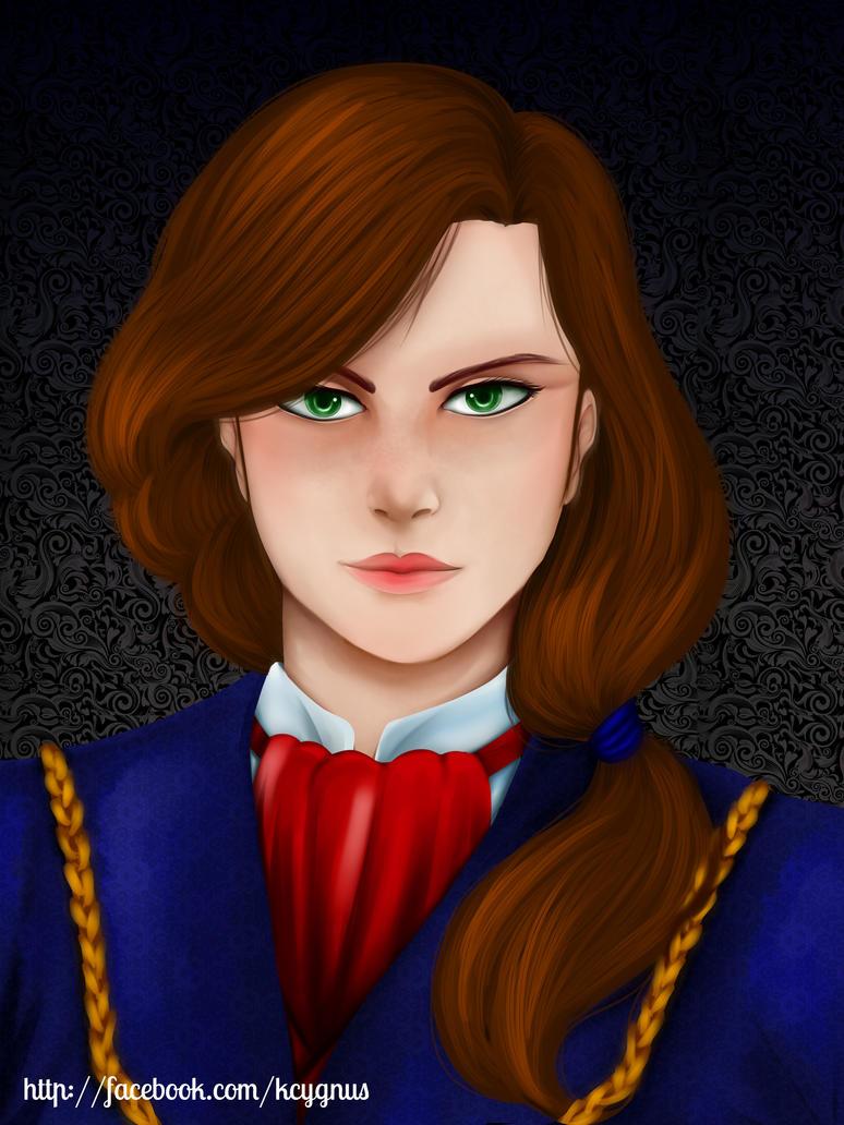 Catalina portrait by KatCygnus