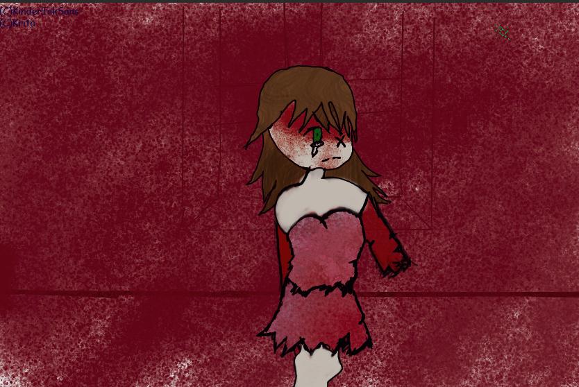 CreepyPasta Sally by KinderInkSans