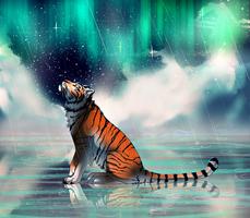 Feel the rain +SPEEDPAINT+ by DarkMasterOfDragons