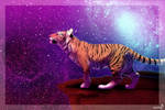 Space Tiger + SPEEDPAINT +